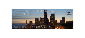 Call to Submit Abstracts for the American Academy of Forensic Science 2018 Annual Scientific Meeting