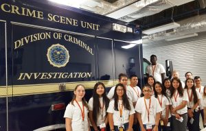 High School students Get Hands-On with Forensic Science