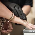 Fingerprinting a prisoner