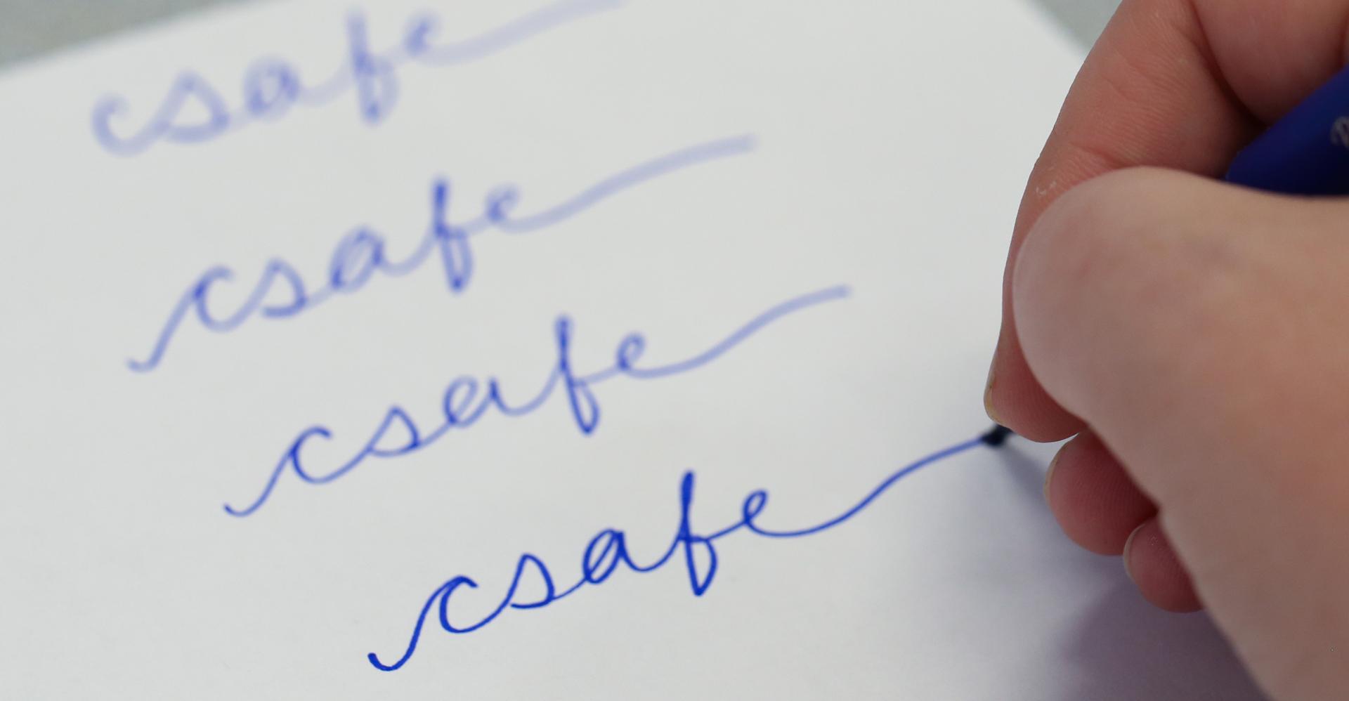 Writing CSAFE