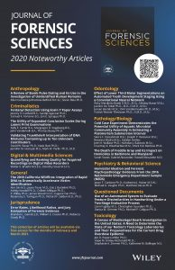 Journal of Forensic Sciences 2020 Noteworthy Articles