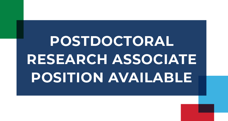Applications Being Accepted for Postdoctoral Research Associate in Forensic and Investigative Sciences