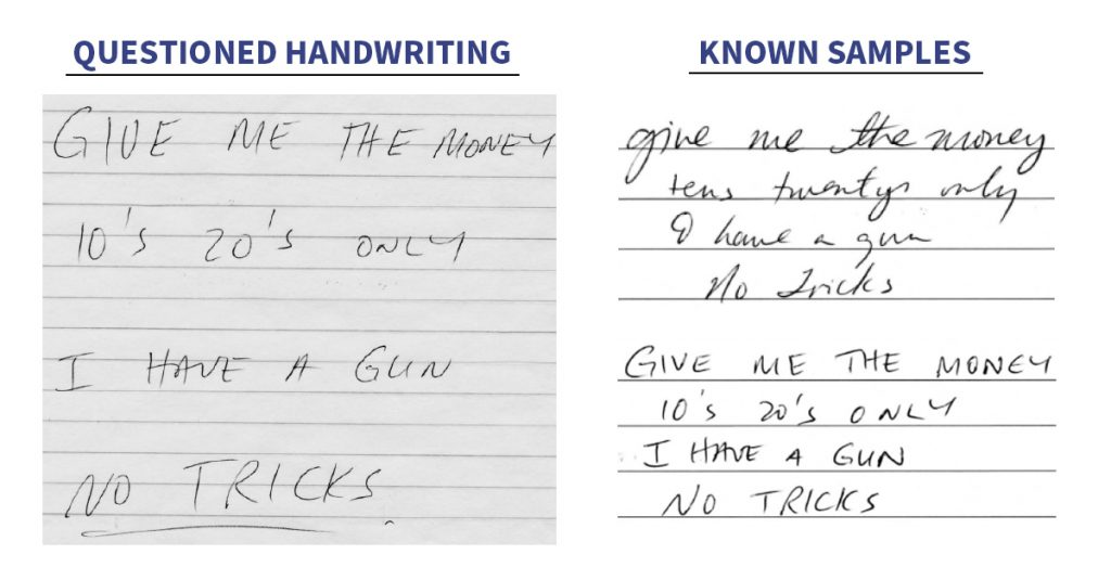 Handwriting Examiners in the Digital Age